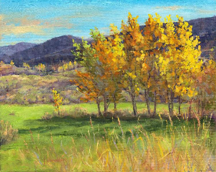Sun Mountain Splendor by Joyce Donaldson