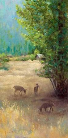 Sylvan Setting by Joyce Donaldson