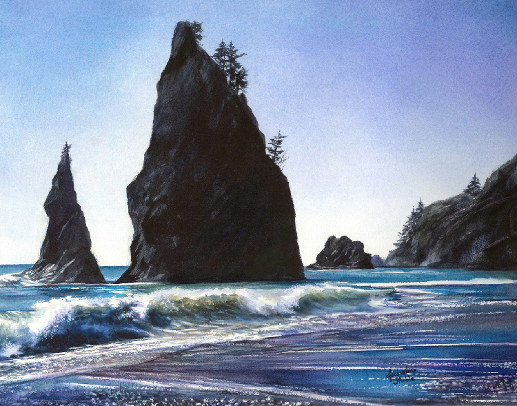 Rialto Beach by Jacqueline Tribble