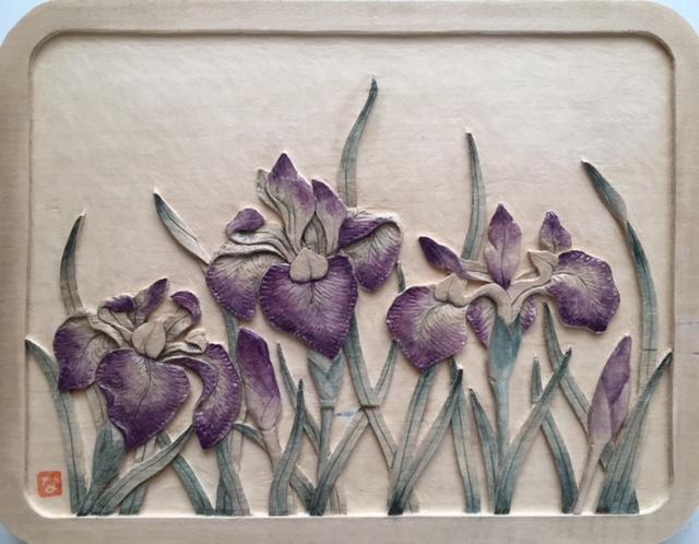 Iris by Naomi Schneider $158