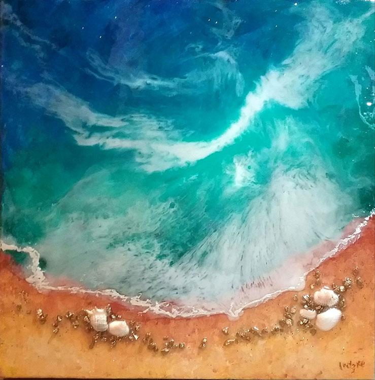 Ocean Breeze by Lena Leitzke