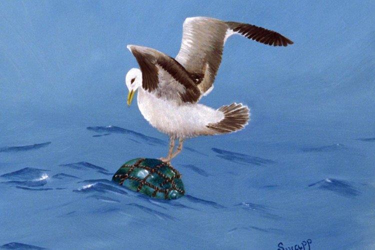 Precarious Perch by Susan Swapp