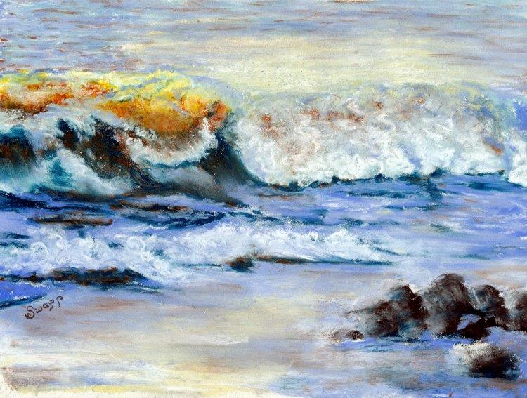 Sand and Surf by Susan Swapp