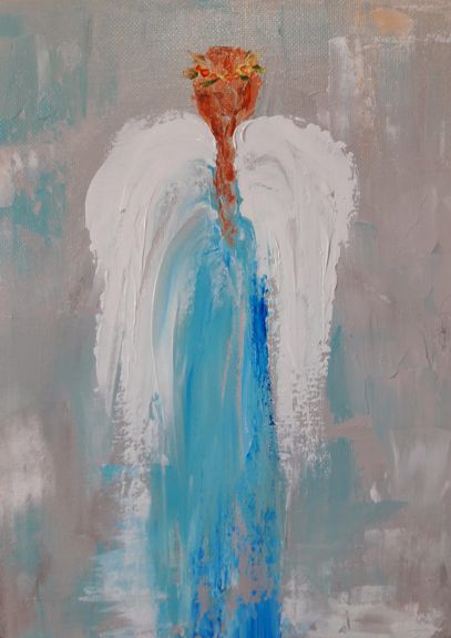 Blue Angel by Leah Rene Welch