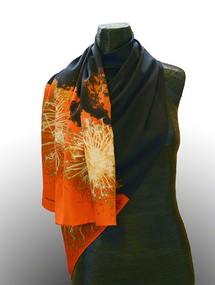 Silk Scarf by Mary Bess Johnson $125