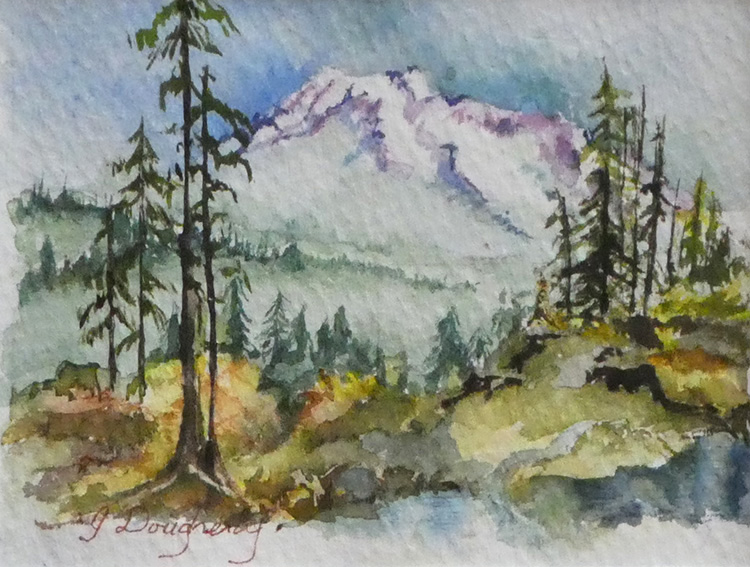Afternoon Shadows by Judy Dougherty $135