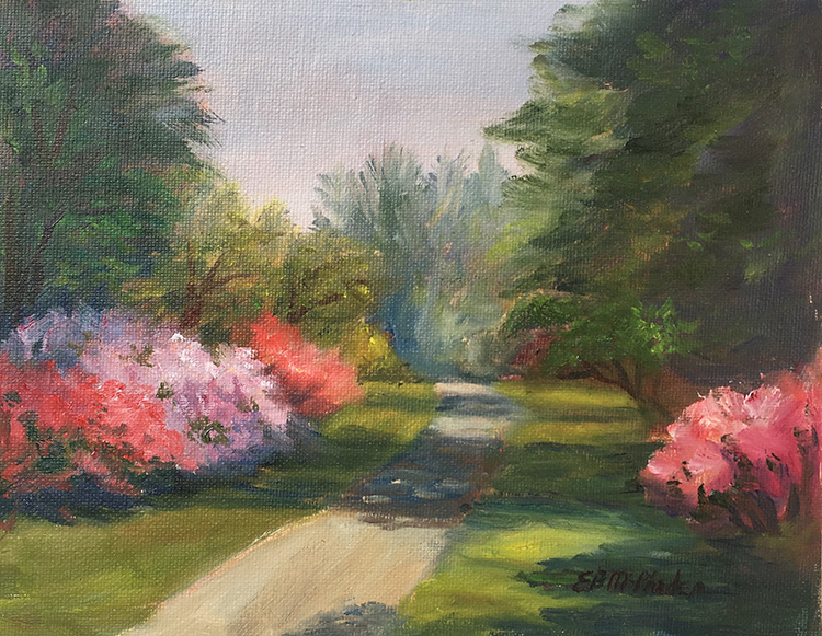 Azalea Trail by Betsy McPhaden $375
