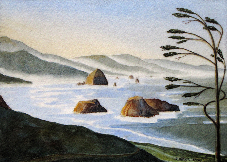 Cannon Beach by Roger Baker $115