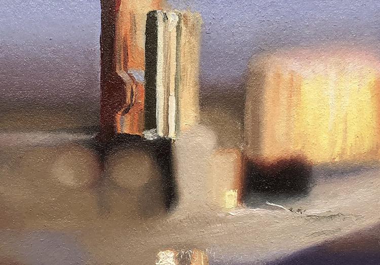 CircuitScape 91 Shimmering Skyline by Glen Kessler $250