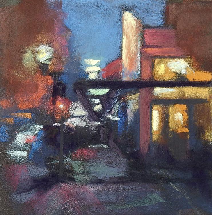 Coffee to Go by Deborah Henderson $175
