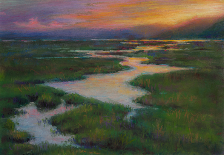 Dawn Awakening by Melissa West - Sold