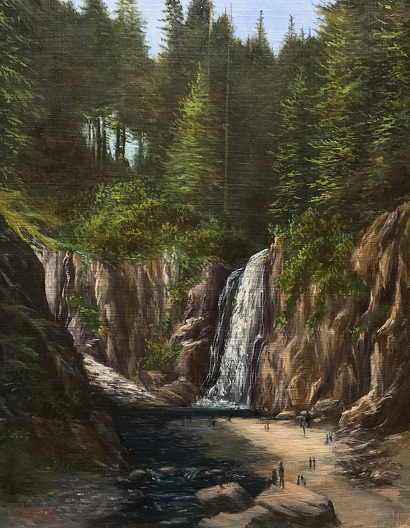 Franklin Falls by Frankie Gollub $475