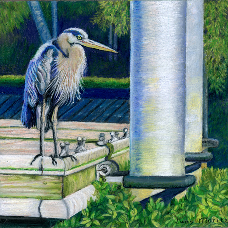Heron's Corner by Judy Moritz $150