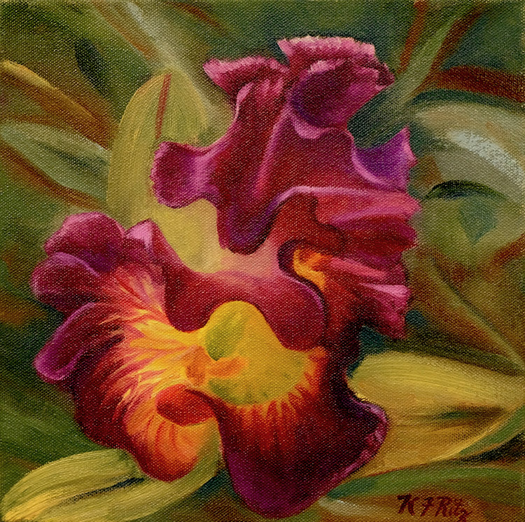 Magenta Orchid by Kathleen Ritz $275