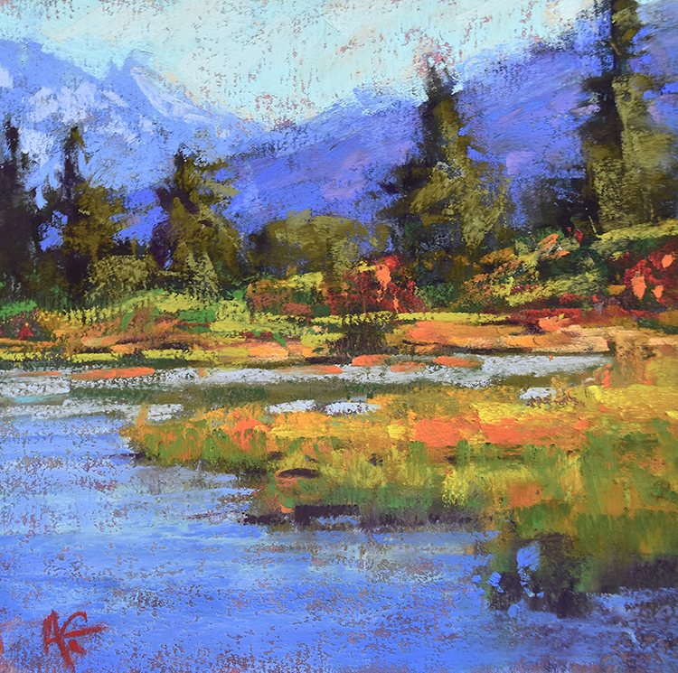 Picture Lake by Alejandra Gos $325
