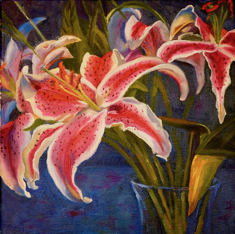 Pink Lily by Kathleen Ritz $275