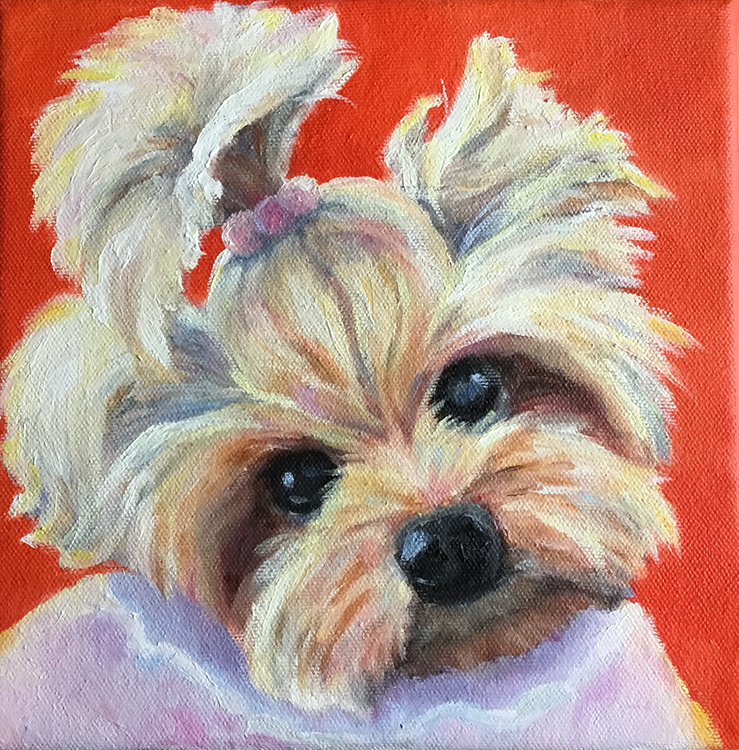 Pretty in Pink by Cynthia Fankhauser $170