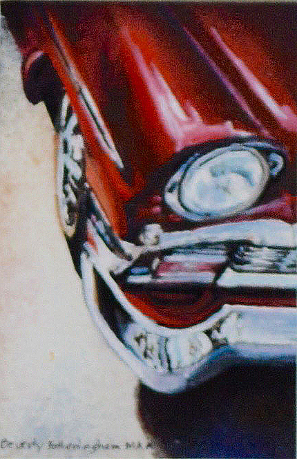 Red 55 Chevy by Beverly Fotheringham $200