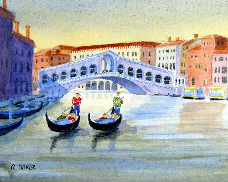 Rialto Evening by Roger Baker $115