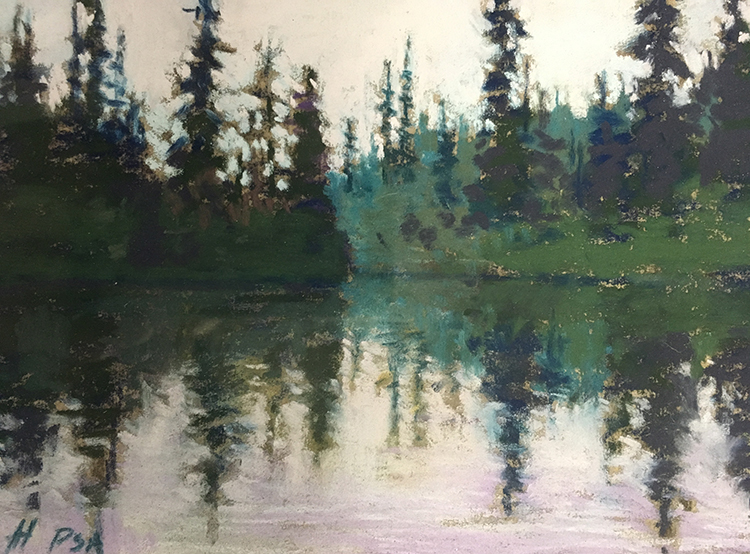 Stillness by Annette Hanna $250