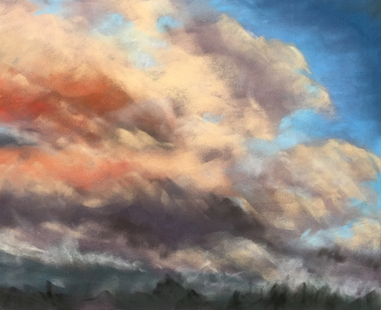 Sunset Storms by T Kurtz $250