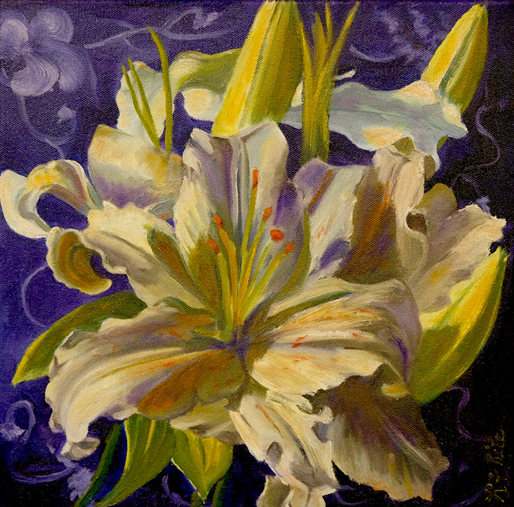 White Lily by Kathleen Ritz $300