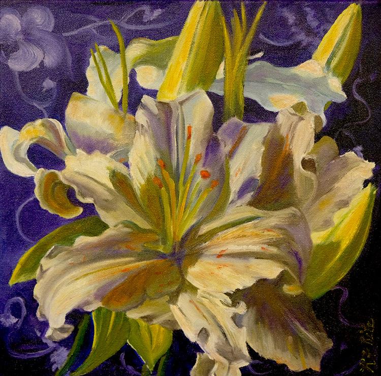 White Lily by Kathleen Ritz $300