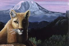 Cougar Mountain by Laura Doerflinger $300