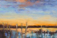 Desolate Sunset 2 by Suzanne Leslie $800