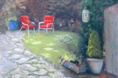 Garden Retreat by Wendy Ervin $325