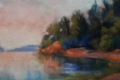 Henderson Inlet Sunset by Deborah Henderson $175