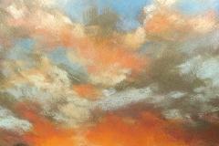 Looking West by Deborah Henderson - Sold