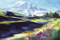 Mount Rainier Study by Jacqueline Tribble $145