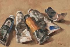Oil Paints 1 by Michael Friel $175