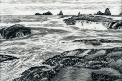 Olympic Coast by Rick Tuthill $200