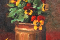 Pansy Perfection by Susan McManamen - Sold