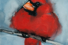 Red Cardinal by Jani Freimann $175