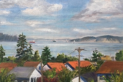 Roof Top View by Betsy McPhaden $375