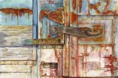 Rusty Latch by Lisa DeBaets $330