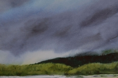 Storm at Hobuck Beach by Mary Anderson $300
