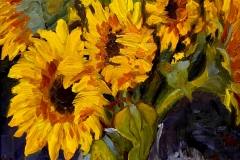 Sunny Flowers by Kathleen Ritz - Sold