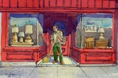 Sweeper by James McFarlane $125