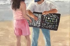 The Beach Vendor by Elaine Cohn $140
