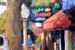 The Cafe by Deborah Henderson $125