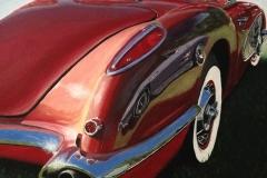 Two Corvettes by Karen Merkin $550