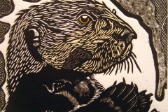 Water Street Otter by Philip Carrico $275