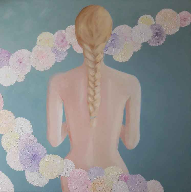 Web Nordic Spring by Leah Rene Welch $890
