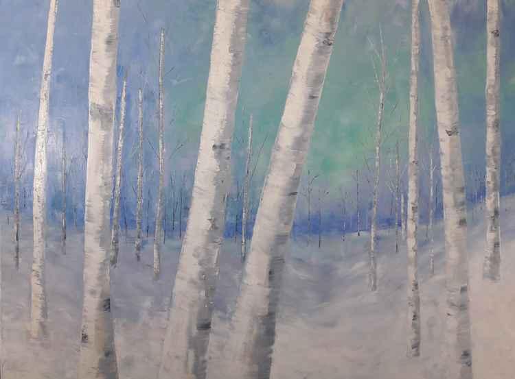 Web Winter Stroll by Leah Rene Welch