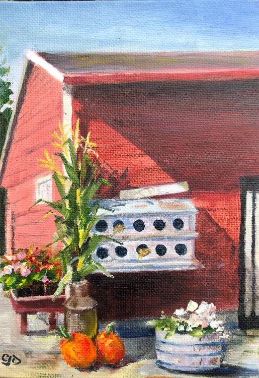 Craven Farm, Snohomish by Carol Dungan