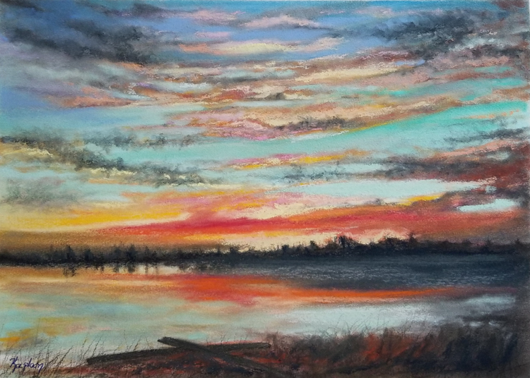 Fire In The Sky by Lisa Kaplan